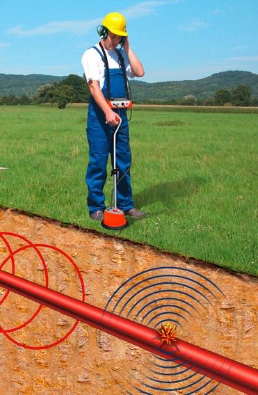 Поиск места повреждения кабеля в земле акустическим методом