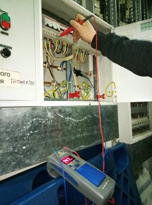 Замер (проверка) сопротивления изоляции электропроводки