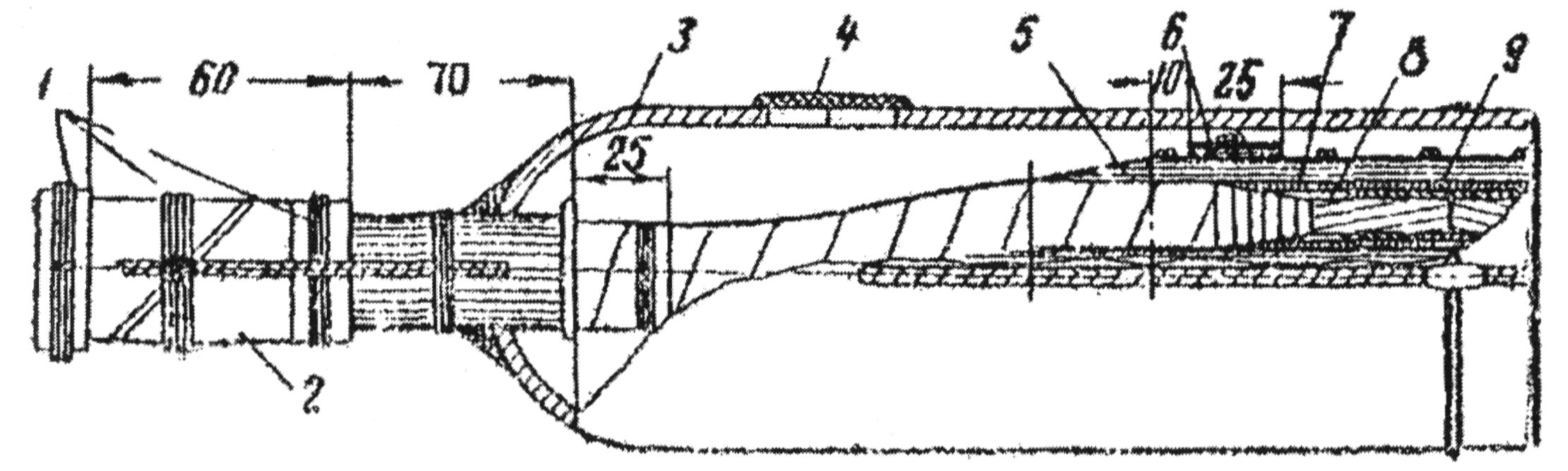 Свинцовая соединительная муфта типа СС для кабелей до 10 кВ