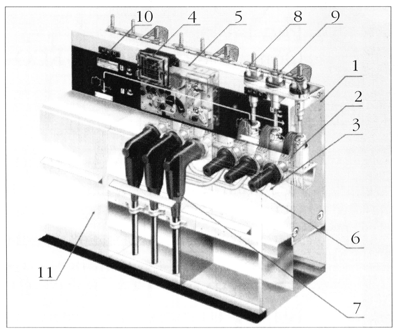 Внутреннее устройство КРУ типа RM6