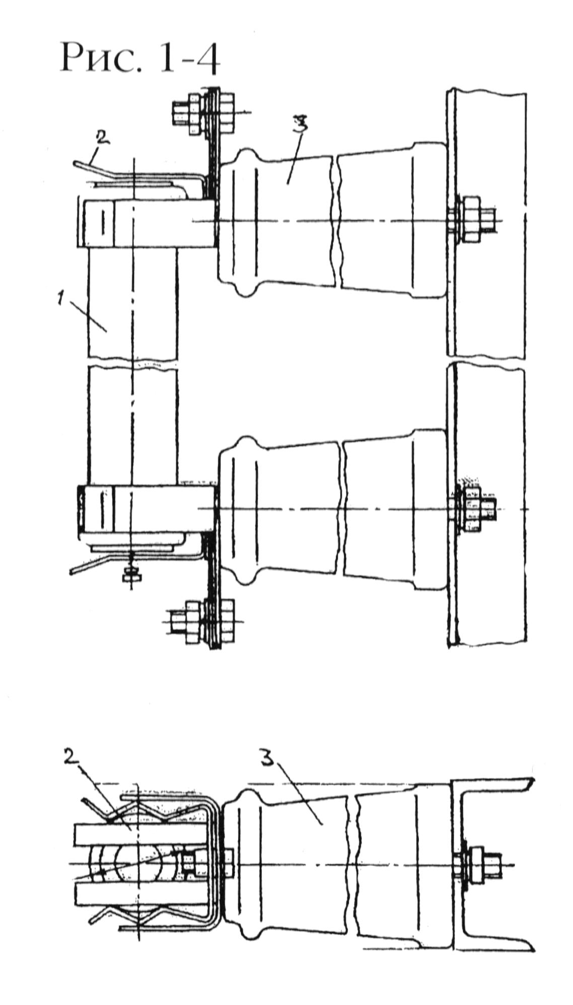 Рис. 1-4. Высоковольтный предохранитель типа ПКТ (6-10 кВ).